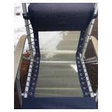 2 Aluminum Folding Patio Chairs
