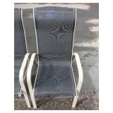 3 Matching Patio Chairs