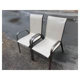 2 Matching Patio Chairs