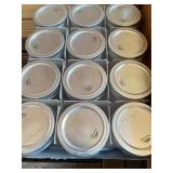 Canning Jars and 8 Packages of Sure-Jell Premium Fruit Pectin