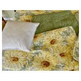 Storehouse Reversible King Quilt, 4 Pillow Shams, and 2 Accent Pillows