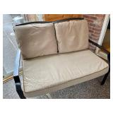 Patio Couch with Cushions