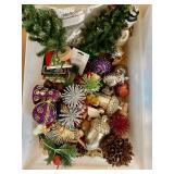 Mini Trees and Ornaments