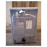 7.4 cu. ft. White Ultra Large Capacity Gas Dryer with Sensor Dry Turbo Steam - New - small scratch n dent