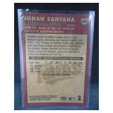 2000 Fleer Update Johan Santana Rookie Card #U43