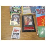 Assorted box lot of goodies- Books - Michael Jordan Etc.