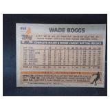 1983 Topps #498 Wade Boggs RC