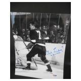 "PSA/DNA Authentic Ted Lindsay Red Wings Autograph Photo 8"" X 10"""