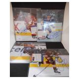 "(4) PSA/DNA Authentic Autographed Hockey Photos 8"" X 10"""