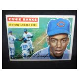 1956 Topps Baseball Ernie Banks #15 Very Good Condition