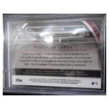 BGS 9 Mint 2013 Bowman Platinum Green Refractor Autograph Byron Buxton Serial #151/399!!!