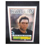 1983 Topps Marcus Allen Rookie Card #294 Near Mint Raiders