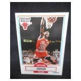 1990-91 Fleer Basketball Michael Jordan #26 Chicago Bulls