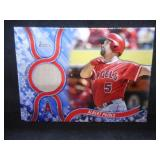 2018 Topps Holiday Game Used Bat Card Albert Pujols