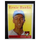 1958 Topps Ernie Banks #310 Very Good Condition Chicago Cubs