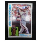 1984 Topps Darryl Strawberry Rookie Card #182 Near Mint