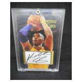 Supreme Cuts Kobe Bryant Facsimile Autograph Card - Not Real