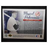 2003 Upper Deck Magical Performances Joe DiMaggio #MP24