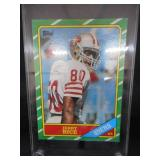 1986 Topps Jerry Rice Rookie Card #161 Excellent Condition L@@K!!!