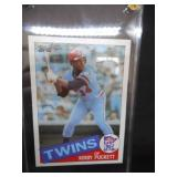 1985 Topps Kirby Puckett Rookie Card #536 Near Mint!!!