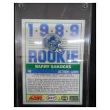 1989 Score Barry Sanders Rookie Card #257 Near Mint L@@K!!!