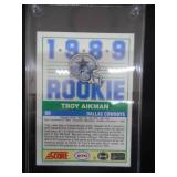 1989 Score Troy Aikman Rookie Card #270 Mint L@@K!!!