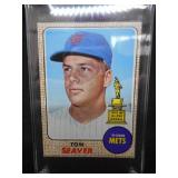 1968 Topps Tom Seaver All-Star Rookie #45 Near Mint L@@K!!!