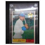1961 Topps Billy Williams Rookie Card #141 Excellent Condition