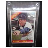 1966 Topps Whitey Ford #160 Excellent Condition L@@K!!!