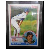 1983 Topps Wade Boggs Rookie Card #498 Near Mint L@@K!!!