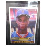 1984 Donruss Darryl Strawberry Rookie Card #68 Near Mint