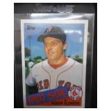 1985 Topps Roger Clemens Rookie Card #181 Near Mint L@@K!!!