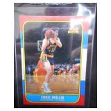 1986 Fleer Chris Mullin Rookie Card #77 Excellent Condition