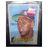1969 Topps Willie Stargell #545 Near Mint