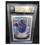 BGS 9.5 Gem Mint 2013 Bowman Byron Buxton Rookie Card #BP1
