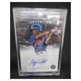 2013 Topps Inception Byron Buxton Autograph Rookie Card