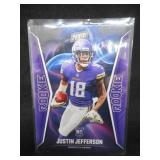 2020 Panini NFL Player Of The Day Justin Jefferson Rookie Card #63