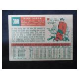 1959 Topps Hank Aaron #380 Very Good Condition L@@K!!!