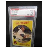 PSA 7 Near Mint 1959 Topps Vic Power #229 Cleveland Indians