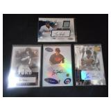 (4) 2003 Lew Ford Autograph Rookie Cards L@@K!!!