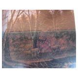 "Terry Redlin S&N ""Morning Solitude"" # 4353/12,107 29""x42"""