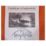 "Terry Redlin S&N ""Evening Solitude"" # 1929/9,500 29""x42"""