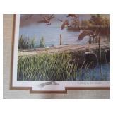 "Ken Zylla ""Lifting To The North"" NAGB 1997 Stamp Print 21""x24"""