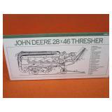 John Deer 1/28th Threshing Machine