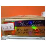 (140) 6.5 Creedmoor Brass for Re-Loading