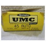 (BSB) 50 Round Box Remington UMC 45...