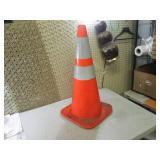 (CSB) Large Orange Safety Cone 28 1...