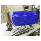 (RM5) Assorted Tools in Tote with L...