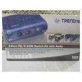 (BSB) TrendNet 2-Port PS/2 KVM Swit...