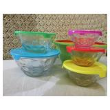 (BSB) Assorted Bowls 5pc Glass Bowl...